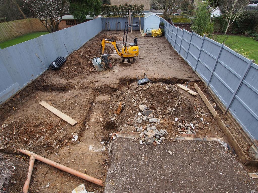 Etonnant Garden Construction. New ...