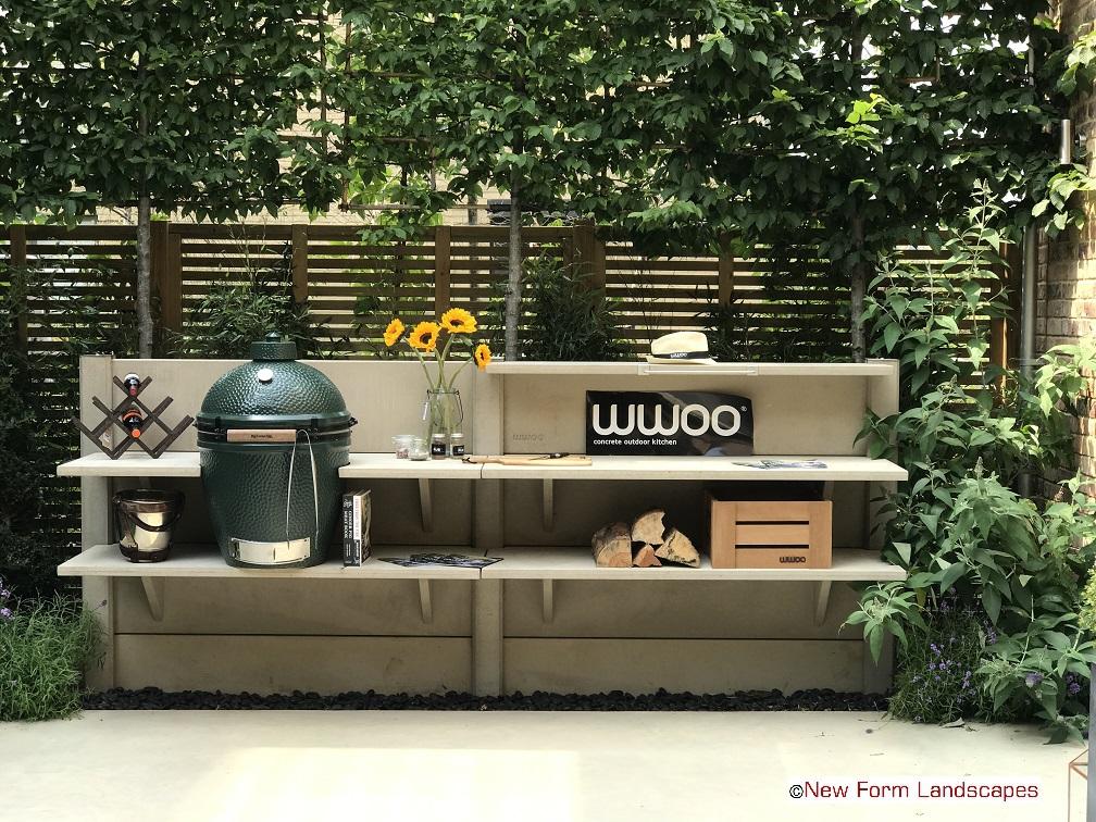 Landscape Garden Design In St Albans Hertfordshire Outdoor Kitchens